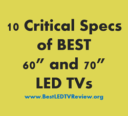 Review of the BEST 60 inch LED TVs