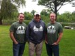 Owners Brian Ernst and David Saterstad with Jimmy Gretzinger of Michigan Out-of-Doors