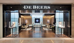 De Beers Diamond Jewellers - Hong Kong Times Square Store