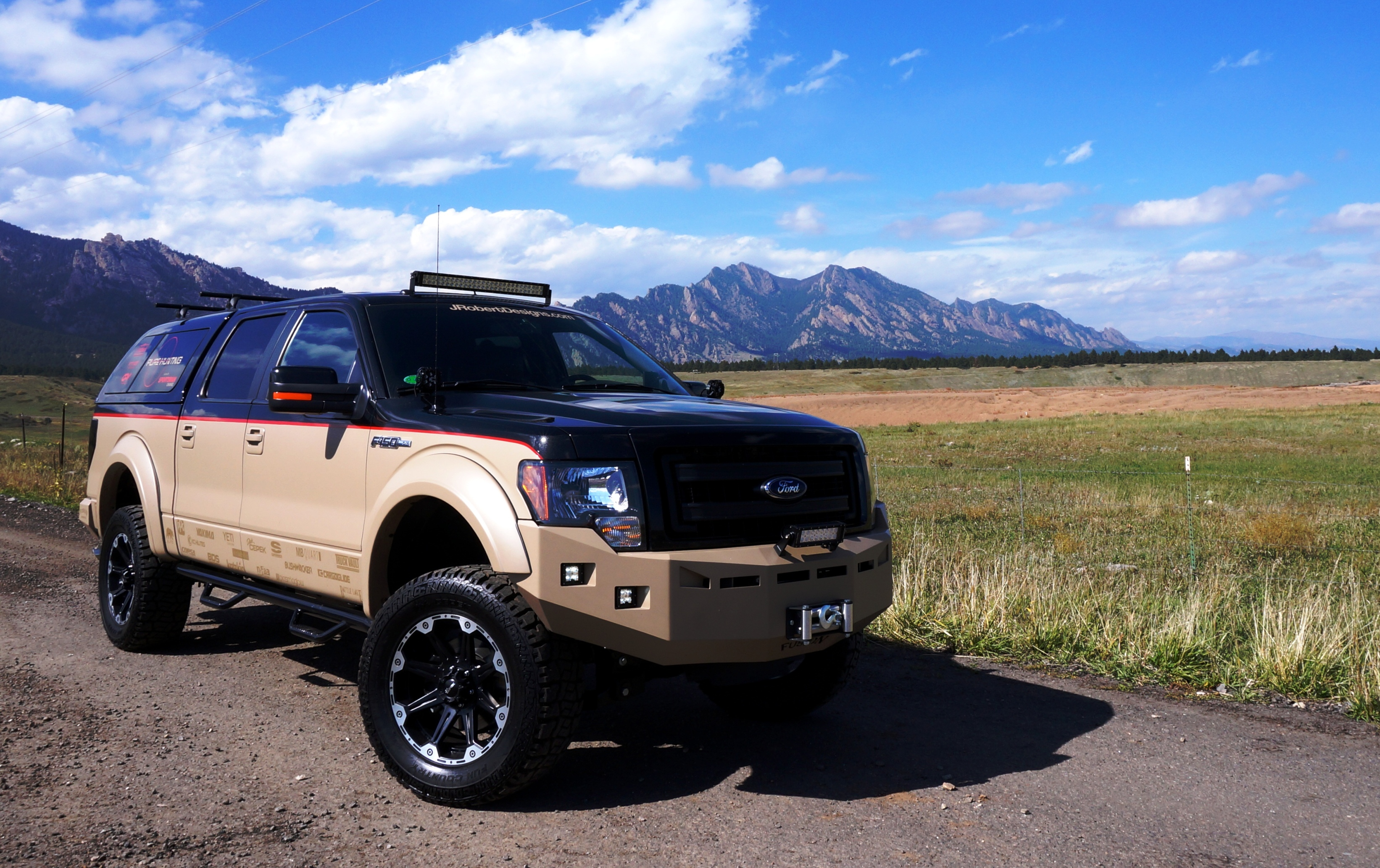 Ford Truck Enthusiast >> Ultimate Outdoorsmen Vehicle Unveiled in Las Vegas
