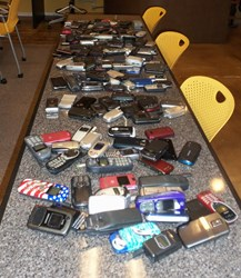 FirstService Residential collects used cell phones for Cell Phones for Soldiers organization