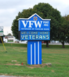 VFW Post 845 LED Sign