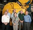 Boeing Executive Tours Solar Atmospheres Plant