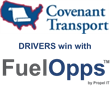 Covenant Transport Drivers Save Fuel, Earn Rewards