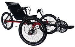 TerraTrike, Traveler, folding trike, trike, comfort, travel trike, weight loss, cycling, recumbent, recumbent trike