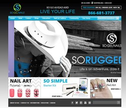 SOGelNails.com Screenshot