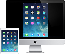 Mirror and record iPad Air screen on Mac