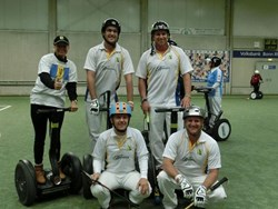 Photo of Barbados Segway Polo Team