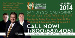 SpeakingEmpire.com Announces The Marketing & Speaking World Summit II
