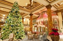 The Fairmont San Francisco Gingerbread House Lobby