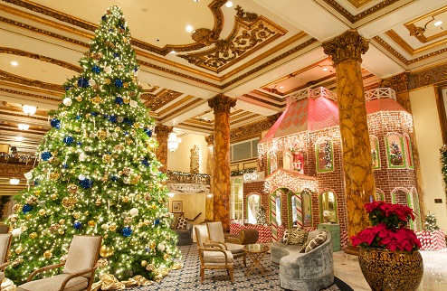 Make The Fairmont San Francisco Hotel Your Home for the Holiday ...