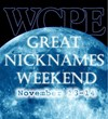 WCPE FM Great Nicknames Weekend