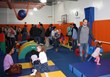 Children of all ages enjoyed free play in the state-of-the-art children's gym during Kidville Mount Kisco's Grand Opening celebrations, held Nov. 2 and Nov. 3 at 145 Kisco Avenue.