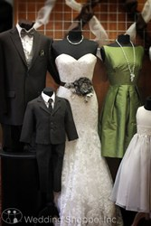 Wedding Shoppe, Inc. offers bridal gowns, bridesmaid dresses, tuxedo rentals, and more!