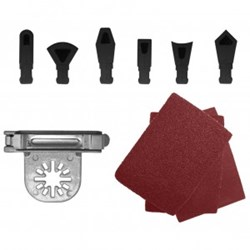 Countour Profile Sanding Kit for Oscillating Tools