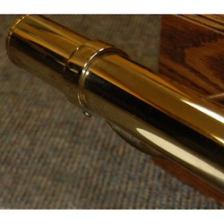 Polished Brass bar rail