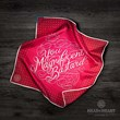 Limited Edition Head and Heart Pocket Square - You Magnificent Bastard