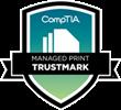 CompTIA Managed Print Trustmark logo