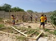 Several projects were completed in Haiti this summer including the construction of greenhouses, painting a school, and more.