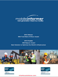 Mobile Informer  for Maximo is named winner 2013 Mobilizer Awards
