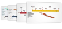 Timeline Templates from Office Timeline  Gantt Charts and Timeline slides easily made with Office Timeline
