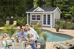 Poolhouse Cabana from PA
