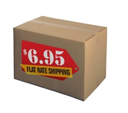 Flat-rate shipping from Discount Labels