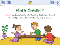 Teach your kids ages 2-8 about the tradition of Chanukah