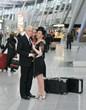 Nataliya Kovalova (Sylva Varescu), Bruce Rankin (Edwin Ronald); at Düsseldorf Airport. Foto @ Hans Jörg Michel