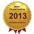 Best Drupal Hosting Award 2013 Named by HostingReview360.com