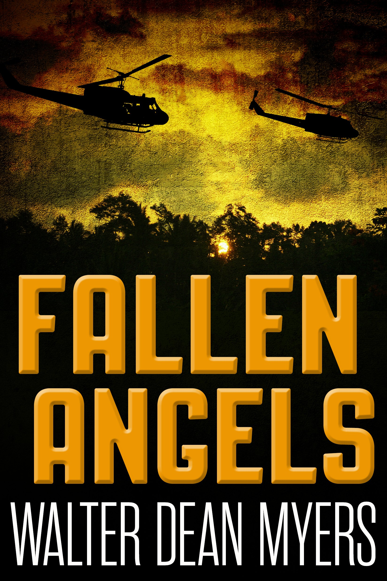 a literary analysis of the fallen angels by walter dean myers A useful book for any literature tie-in with a history class studying war or racism source used: our own critique.
