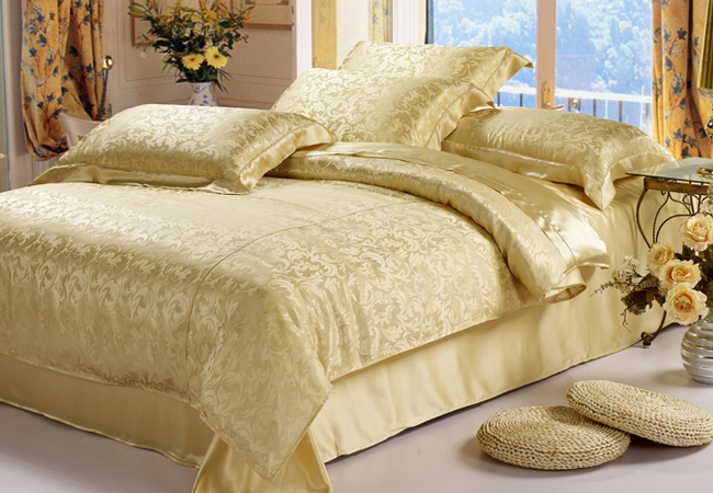 silk bed linensilk bed linen