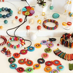 Our entire collection is fair trade, sustainable and organic, handmade from Tagua seeds.