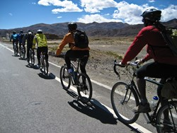 Cycling in Tibet is amazing.
