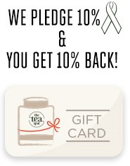 10% Pledge to Cancer Wellness & 10% to Customer Loyalty Program