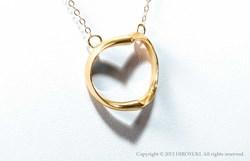 Shadow heart, Necklace, Kickstarter, Jewelry, Diamond, Innovation, Design, Unique, Gold