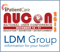 LDM Group to Sponsor and Exhibit at iPatientCare NUCON 2013