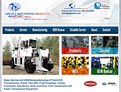 Great Lakes Power Products' new site uses responsive design so that it can be easily used on smartphones and tablets
