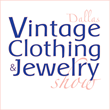 Dallas Vintage Clothing and Jewelry Show Logo