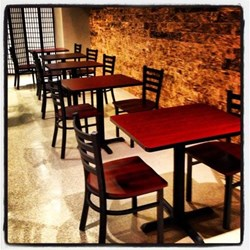 Restaurant furniture supply teams up with tangerine asian for Oriental furniture nj