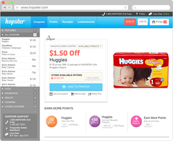 Hopster New Website - Boost Grocery Coupons Savings with Engagement