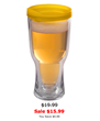 Brew2Go Tumbler With Gold Lid