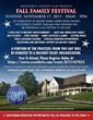 Fall Family Festival Flyer