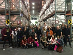 Climb Real Estate Agents and Staff at the San Francisco Food Bank