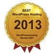 The Award of Best WordPress Hosting 2013 Named by...