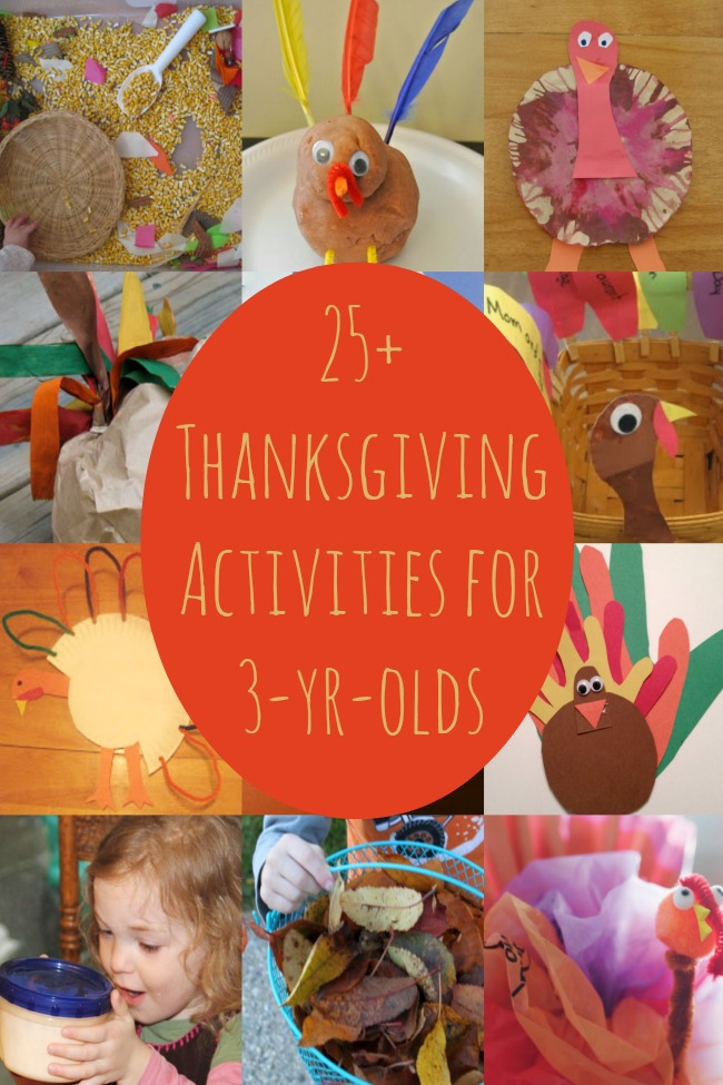Thanksgiving Activities For 3 Year Olds Have Been Released