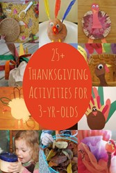 thanksgiving activities for 3 year olds