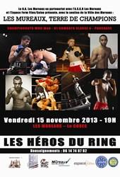 Gala de boxe aux Mureaux le 15 novembre à 19h