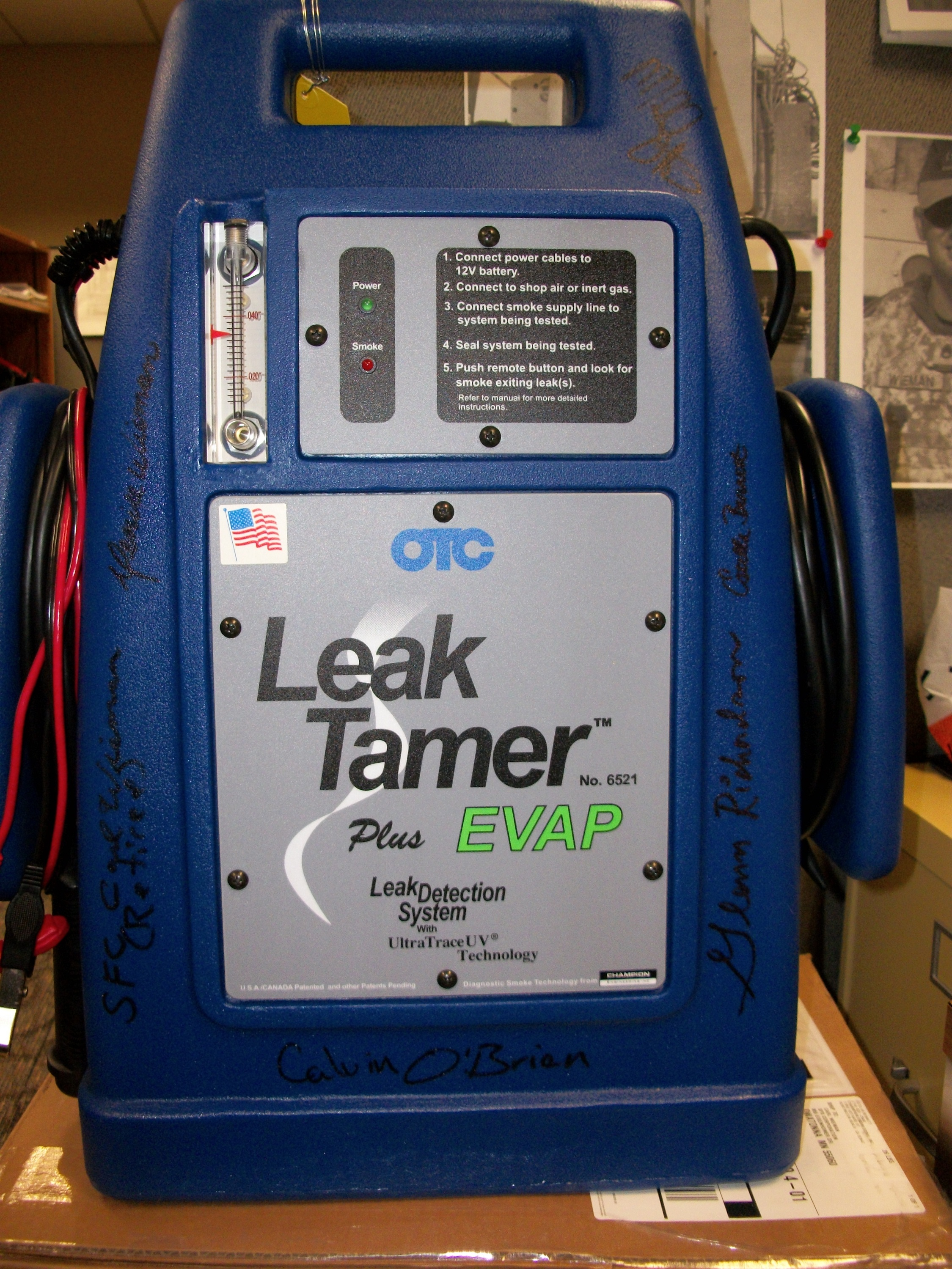 leak tamer smoke machine