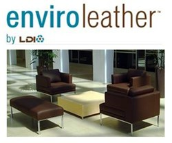 Enviroleather Logo and Project Photo